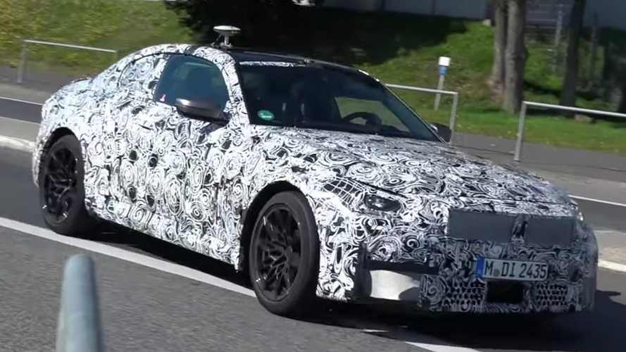 BMW M2 spied on the move near the Nurburgring