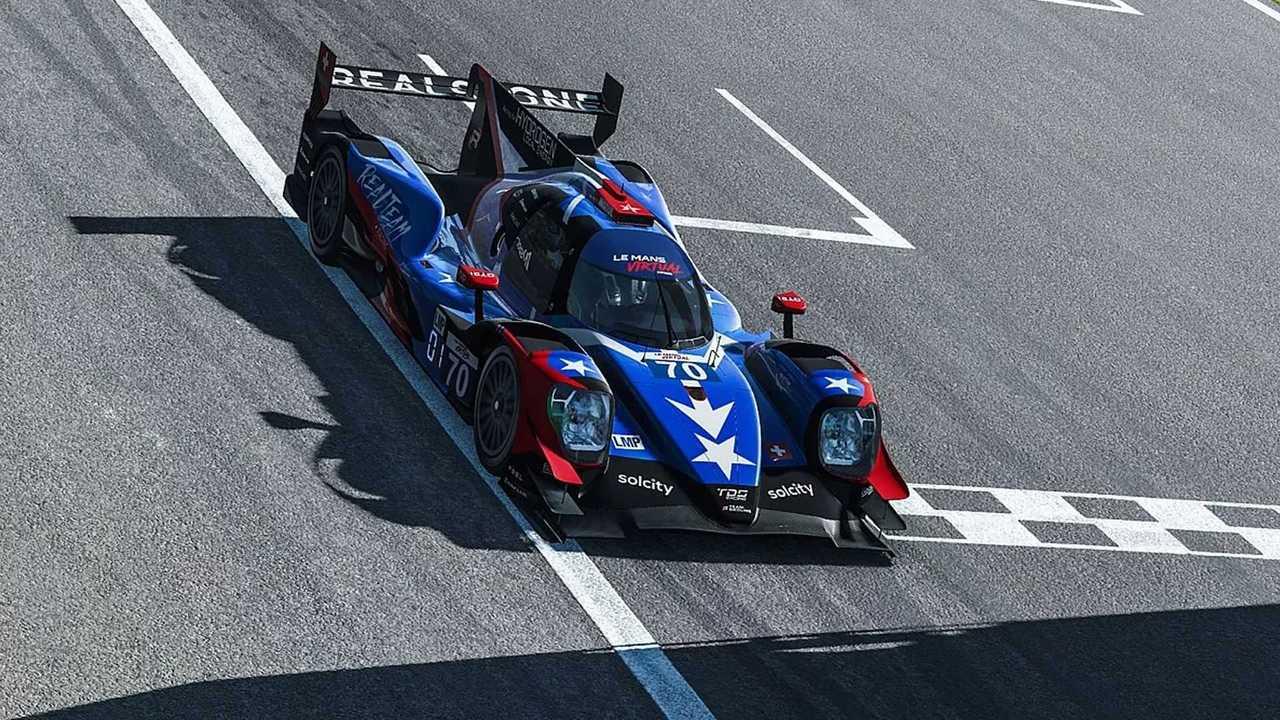 Première manche des Virtual Series du Mans à Monza