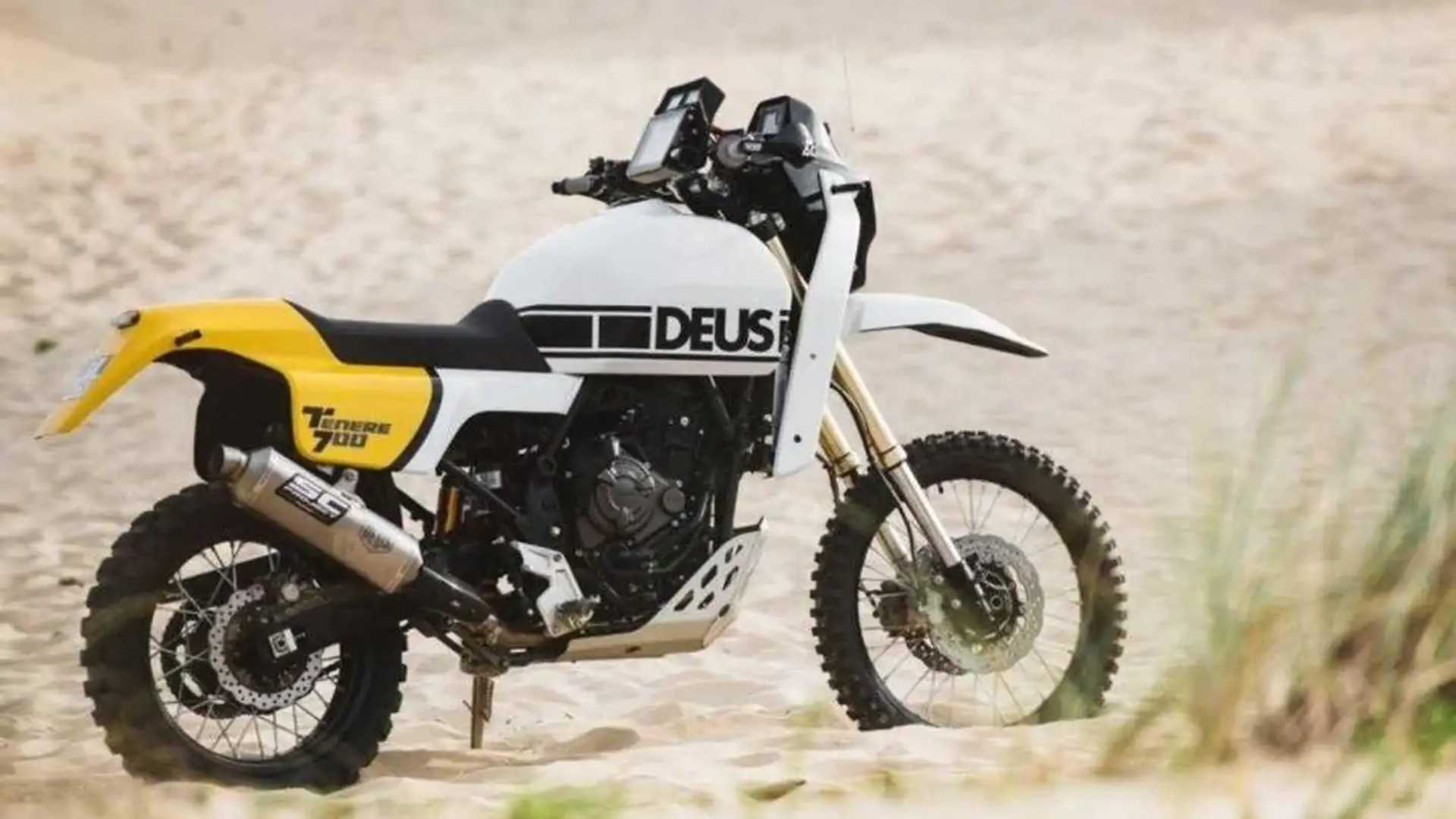 Deus Italia T7: Yamaha Ténéré 700 - Rear, Right