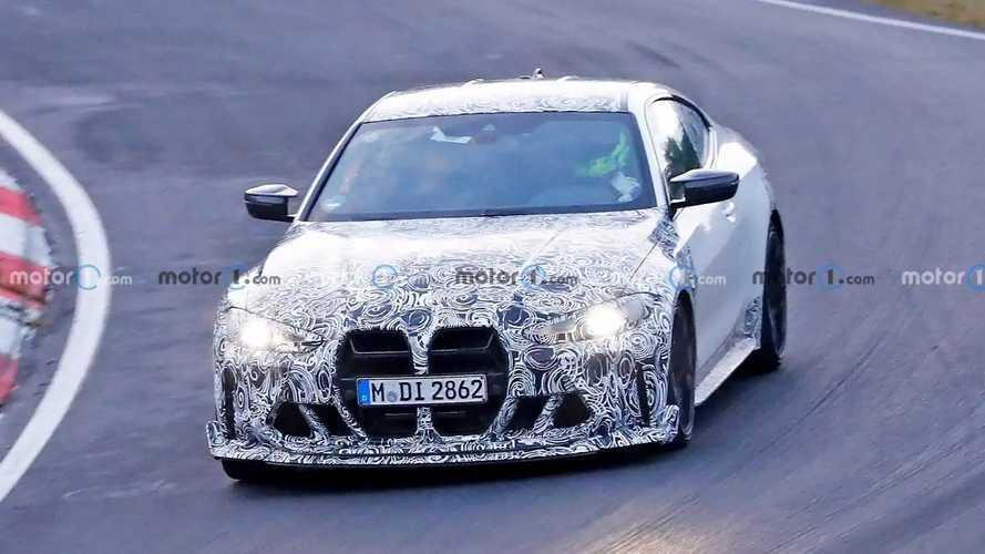 BMW M4 CSL Spy Shots