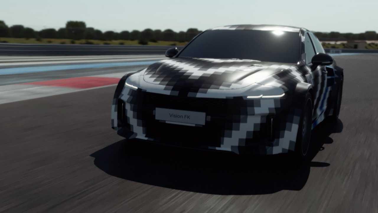 Hyundai Vision FK: Sportlimousine mit Wasserstoff-Antrieb