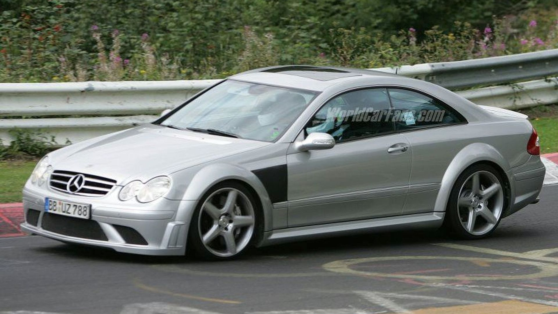 New Spy Info Mercedes Clk 63 Amg Black Series