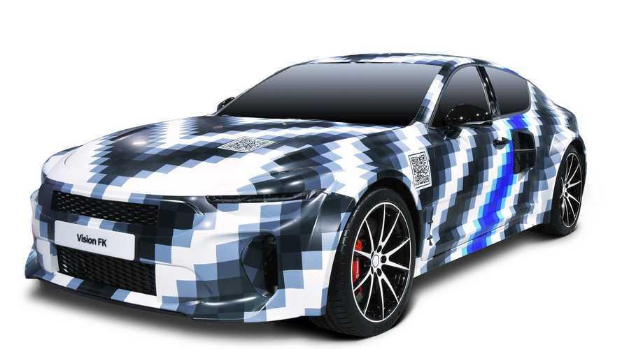 Hyundai показал новые изображения своего водородного седана