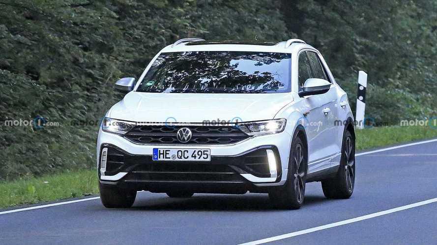 VW T-Roc R Facelift Spy Shots