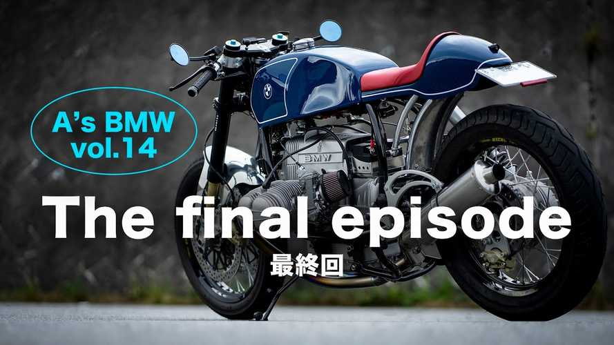 Garage Builder Shiroh Nakajima Finishes BMW R100RS Build In Style