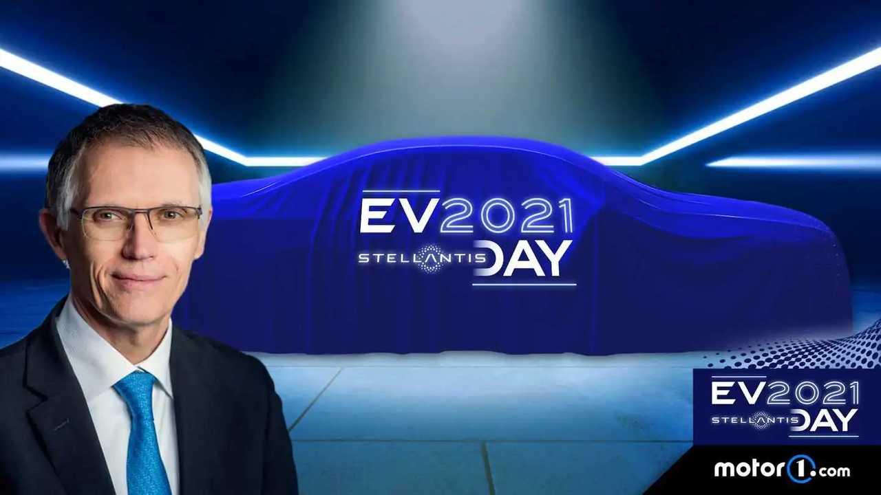 Carlos Tavares, Ceo di Stellantis, all'EV Day