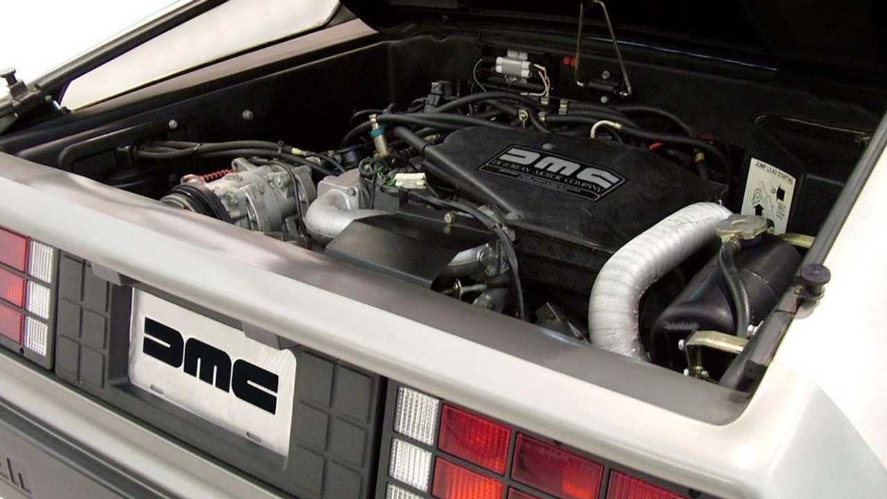 Der Europa-V6 im DeLorean DMC-12