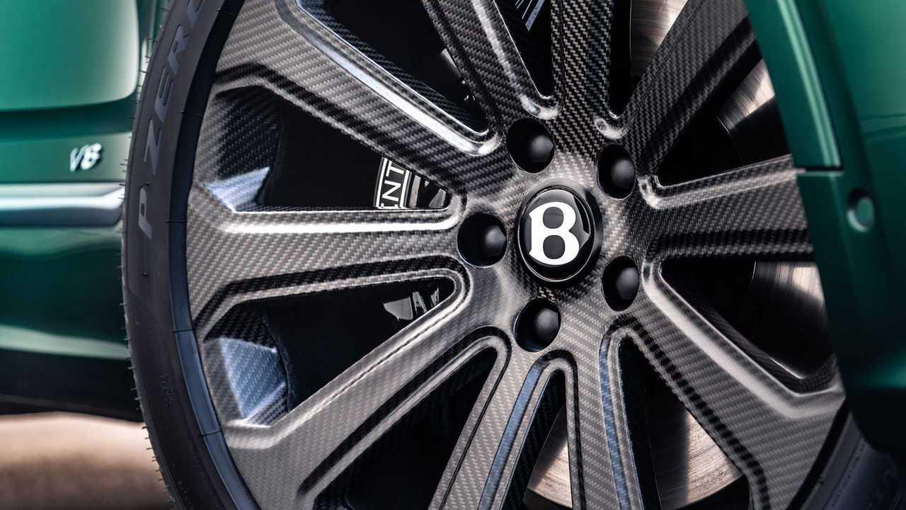 A Bentley Bentayga With Mulliner 22-inch wheels.