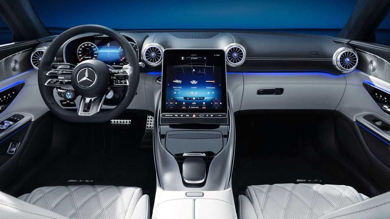 Intérieur future Mercedes-AMG SL