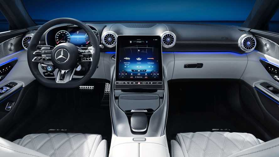 Mercedes-AMG SL imagens do interior