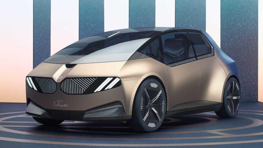 BMW i Vision Circular: el coche urbano del futuro