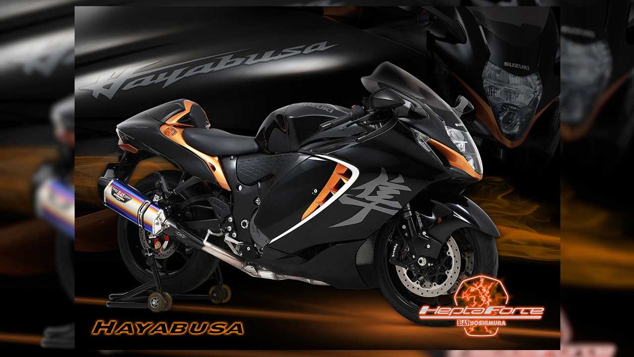 Yoshimura Suzuki Hayabusa 2021 Hepta Force Exhaust