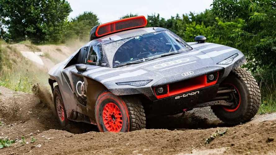 Audi RS Q E-Tron Off-Roader Breaks Cover For 2022 Dakar Rally
