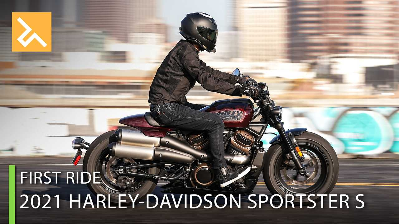 2021 Harley-Davidson Sportster S - Cover