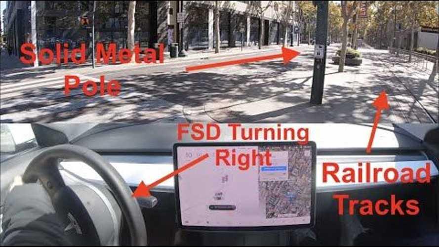 Scary Tesla FSD Beta 10.2 Stress Test: Downtown San Jose, CA