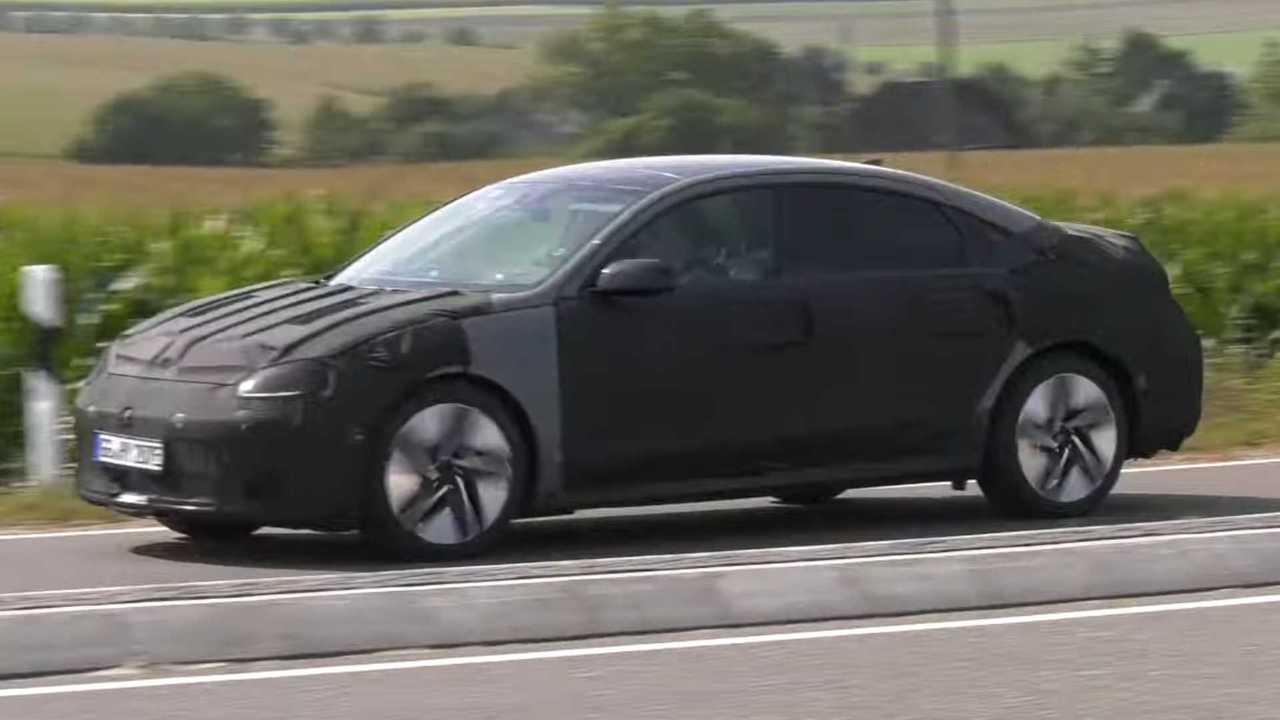 Hyundai Ioniq 6 Spy Video