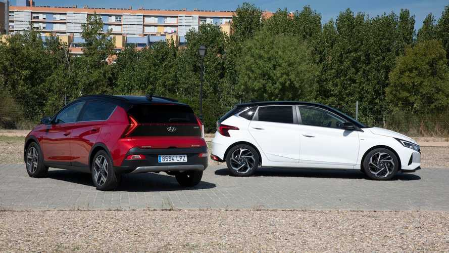 Prueba Hyundai i20 y Bayon: misma plataforma, dos conceptos