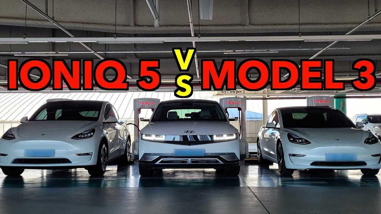 Tesla Model 3 Vs Hyundai Ioniq 5: Watch Back-To-Back Comparison