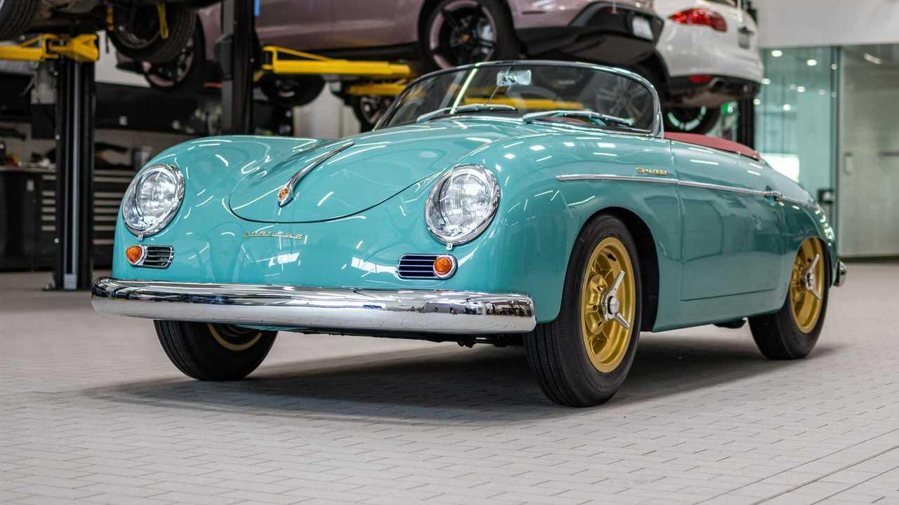 1955 بورش 356 سبيدستر استعادة وتعديل بورش سانتا كلاريتا