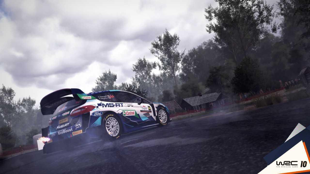WRC 10 Gameplay Screenshot