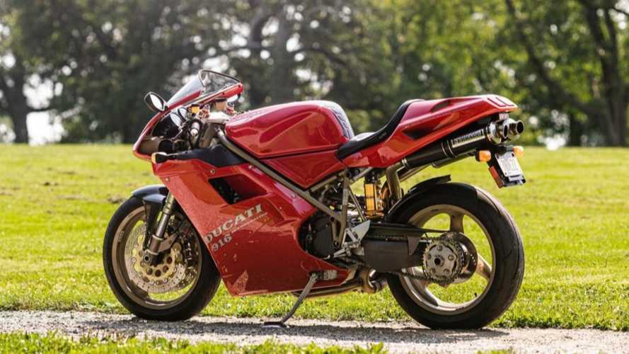 Grab This Mint Ducati 916 Monoposto Before It's Too Late