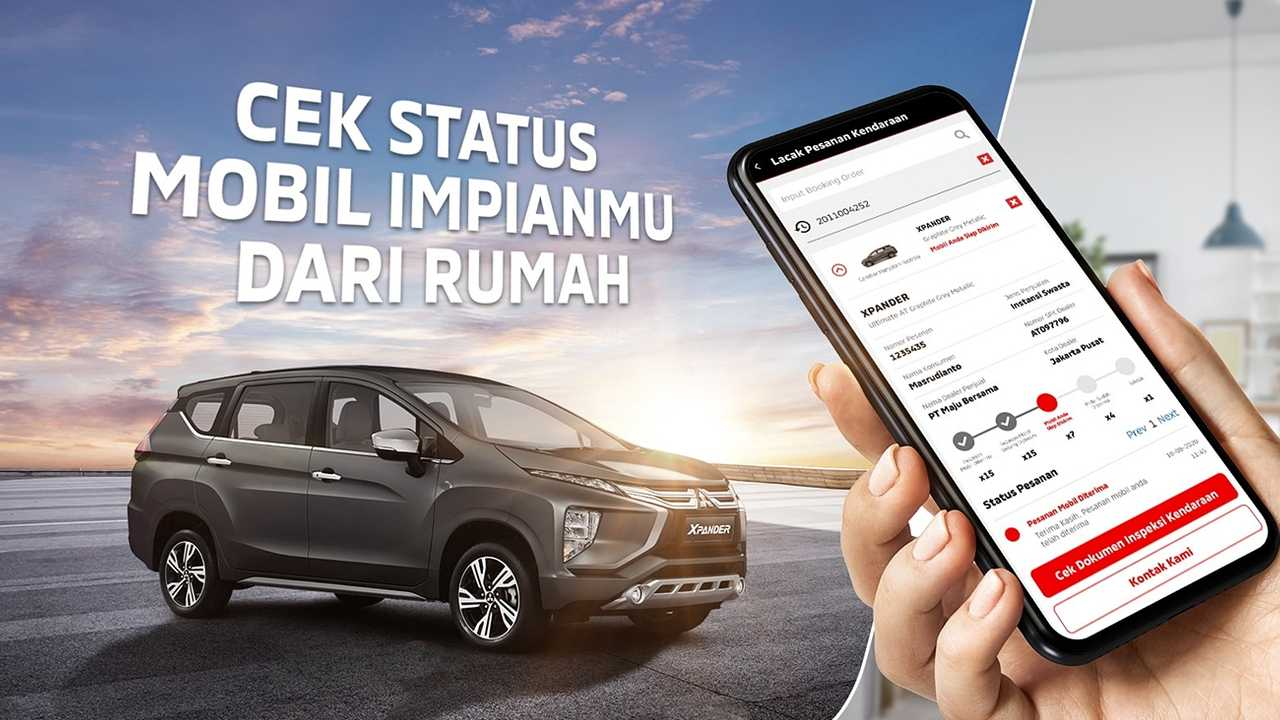 Fitur baru di aplikasi Mitsubishi