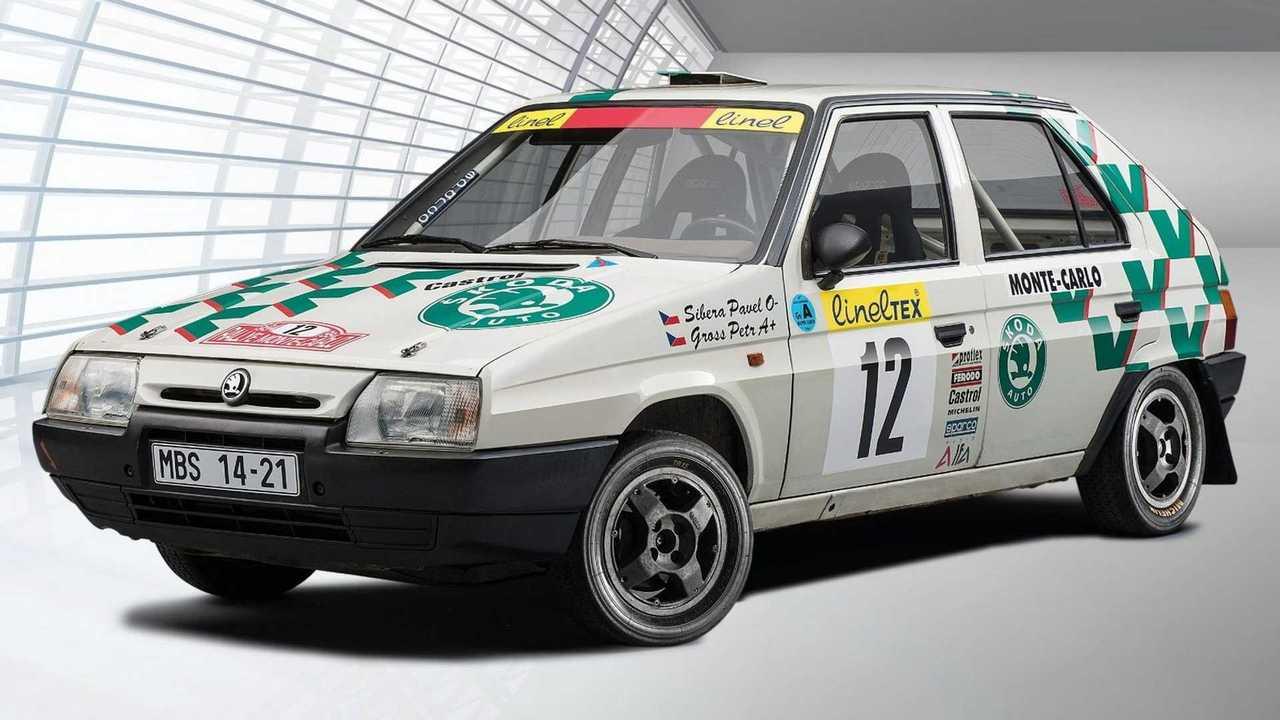 Skoda Favorit WRC