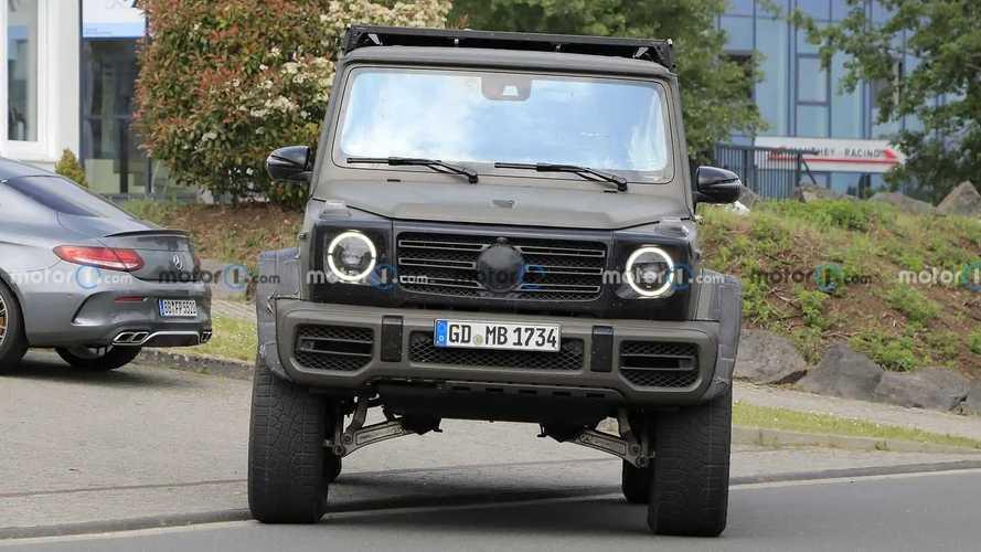 2022 Mercedes G-Serisi 4x4² Yeni Casus Fotoğraflar