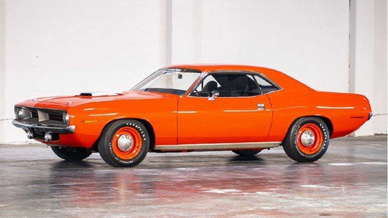 Plymouth 'Cuda (1970) - 1.200.000 dollari
