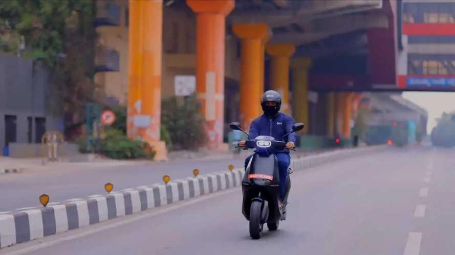 Ola scooter elétrico