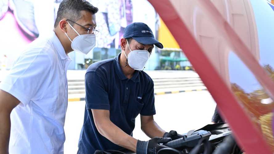 Hyundai Service Point Singgah di Kota Bekasi