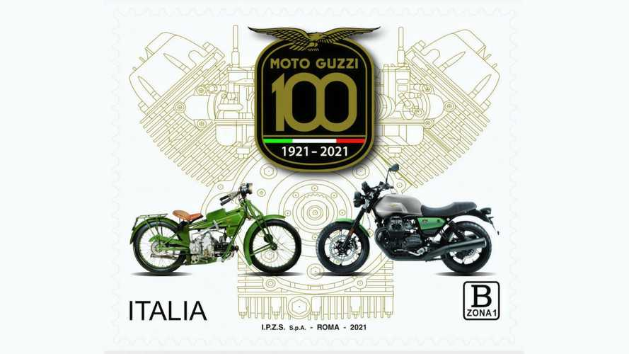 Italy Issues Postage Stamp To Celebrate Moto Guzzi's 100th Birthday