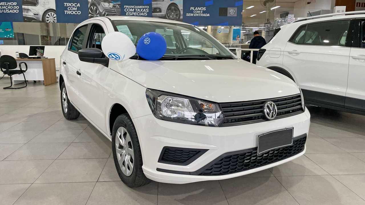 Volkswagen Gol 2022 na loja