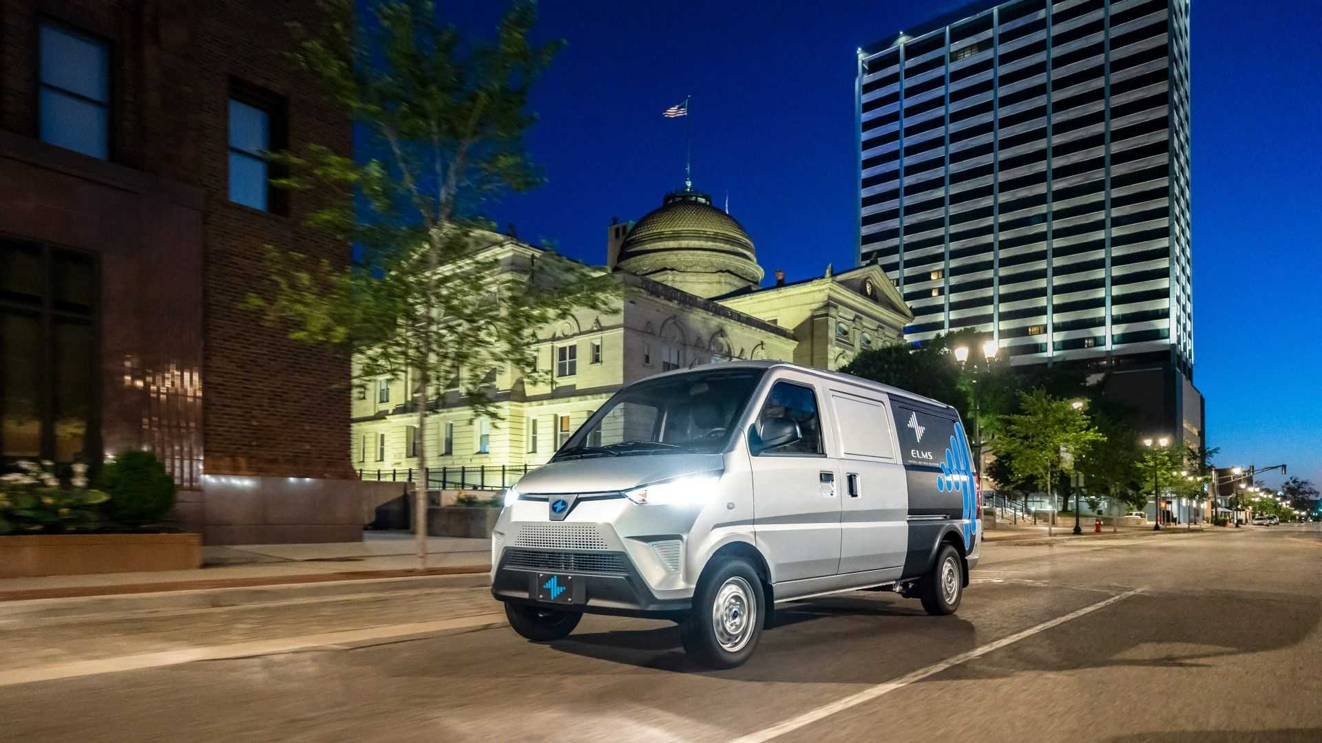ELMS Urban Delivery Class 1 commercial electric vehicle 2