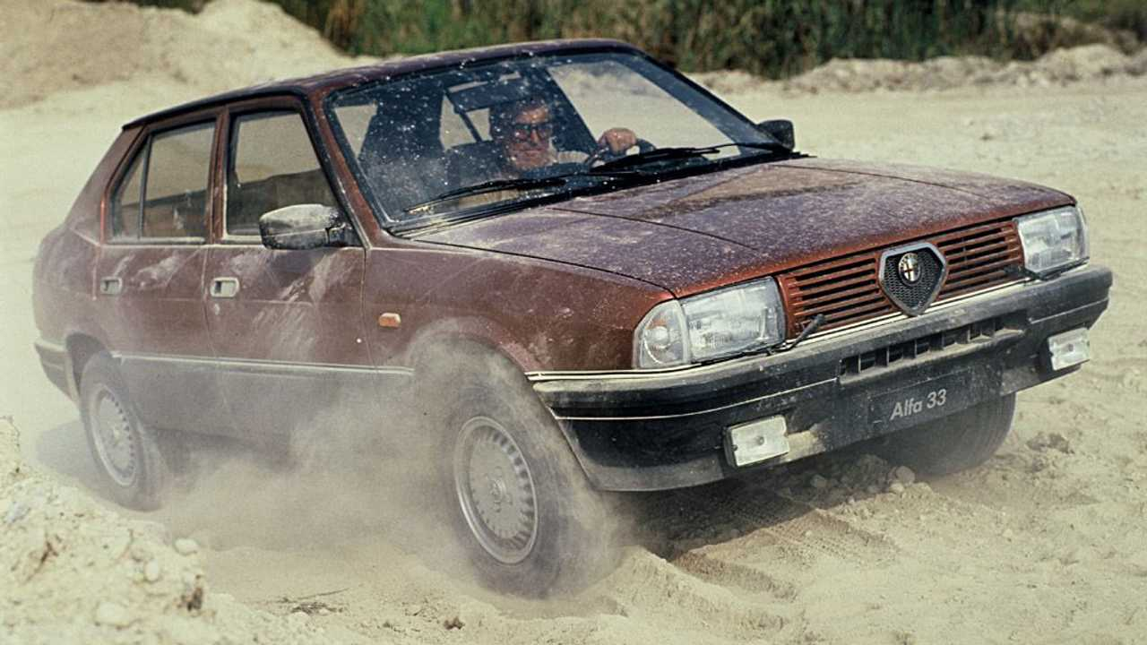 Alfa Romeo 33 1.5 4x4 (1985-1986)