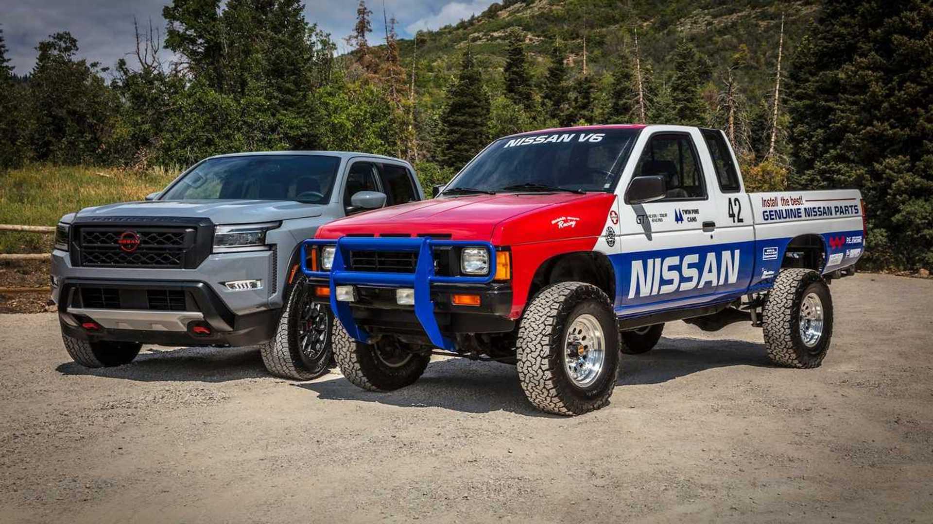 Nissan Frontier inspirada en el piloto de hardbody para el Rebelle Rally