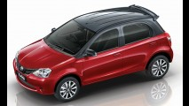 Toyota Etios ganha edição com acabamento especial e pintura em dois tons