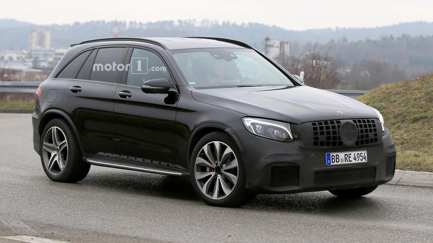 Mercedes-AMG GLC63'ün en net casus fotoğrafları burada