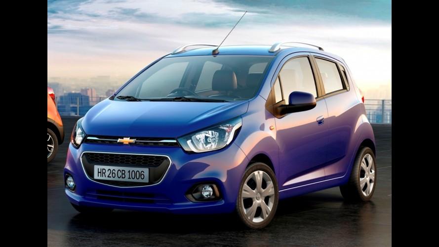 Chevrolet Beat é confirmado em versões hatchback, sedã e aventureira
