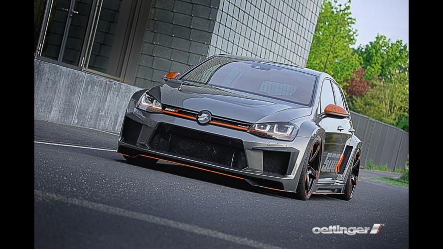 """Conheça o """"monstro"""" Golf R500 com motor 2.5 litros de 518 cv - galeria"""