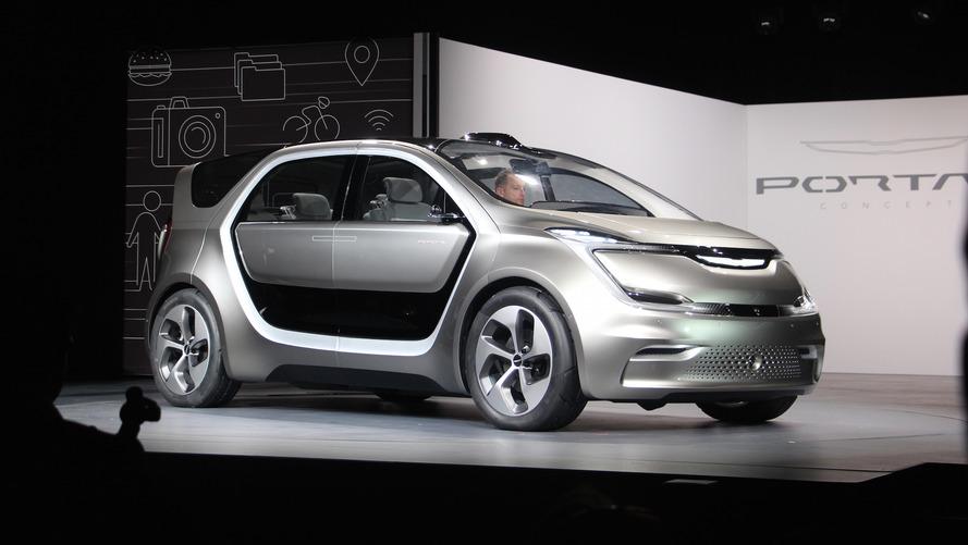 Chrysler Portal konsepti üretim bandına girebilir