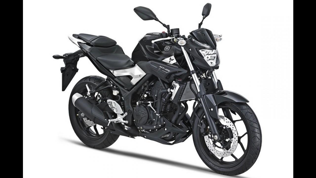 Yamaha XSR 155, retrô de baixa cilindrada, é revelada nas
