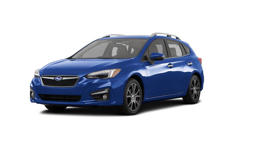 ABD'de üretilen ilk Subaru Impreza üretim bandını terk etti