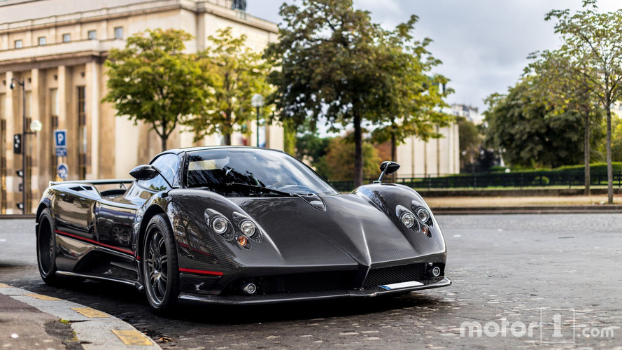 Supercars of September in Paris