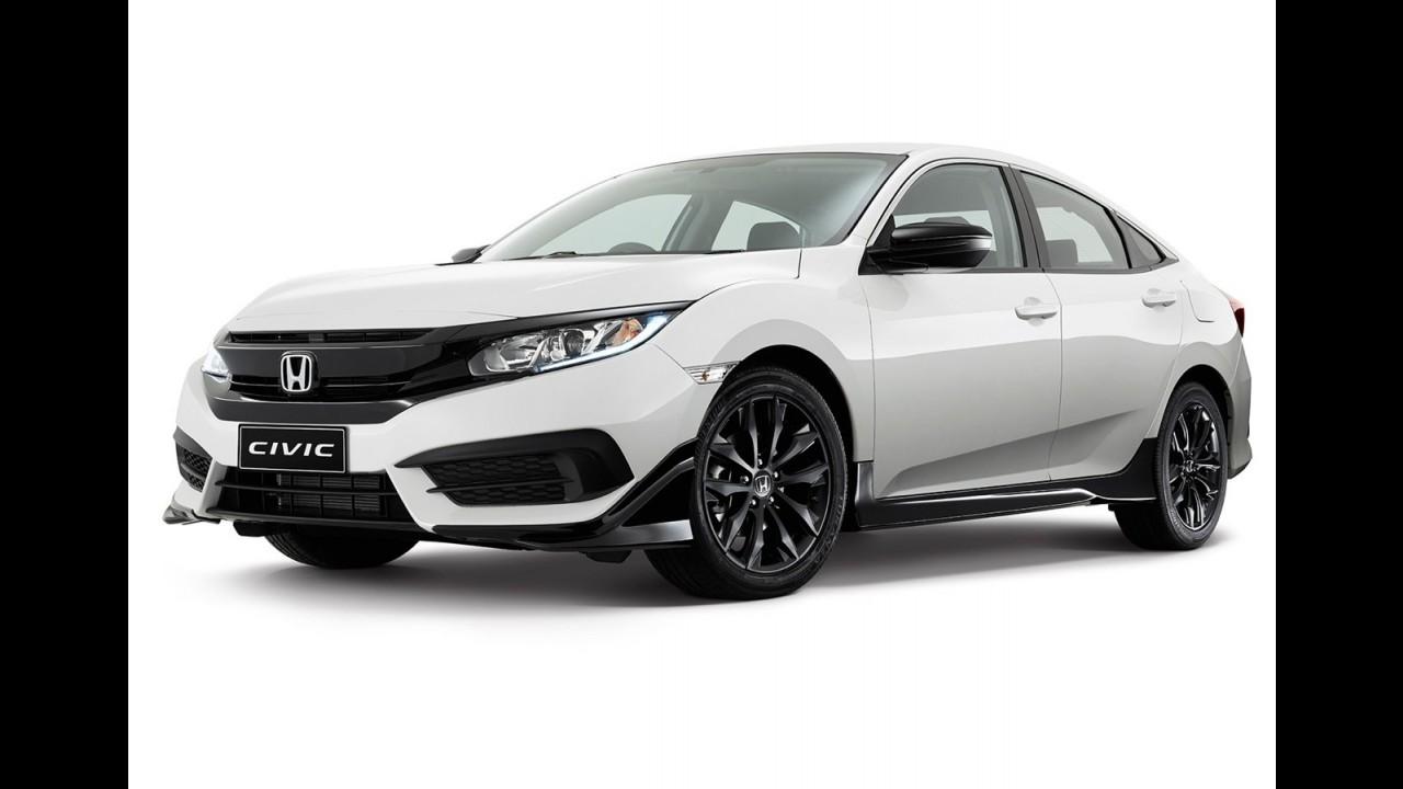 Novo Honda Civic ganha pacote visual esportivo