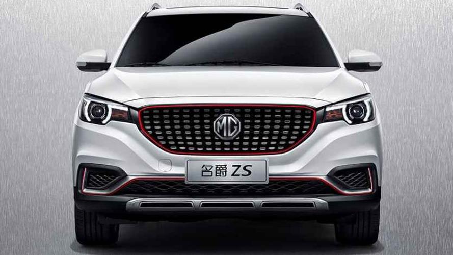 MG ZS'in çok tanıdık gelen tasarımı sızdırıldı
