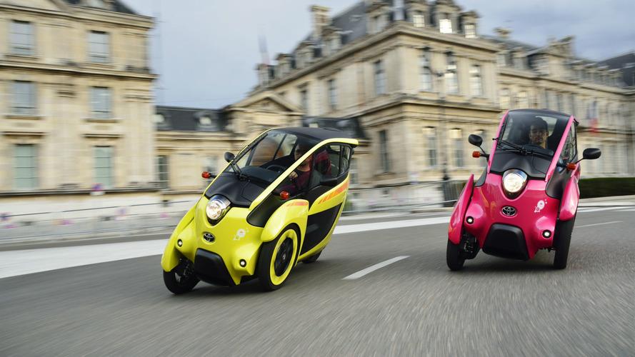"""""""L'automobile dans les villes françaises aujourd'hui """" – 3. Des Toyota électriques en auto-partage à Grenoble"""