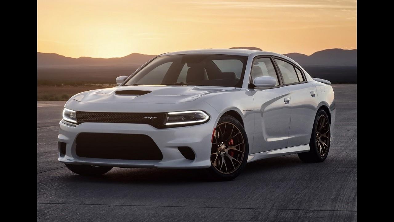 Dodge deve trazer versões Hellcat do Charger e Challenger ao Brasil