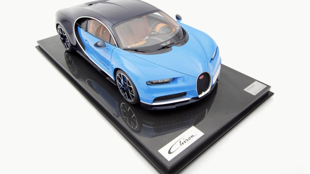 Uma joia: conheça a miniatura do Bugatti Chiron que custa R$ 35 mil!
