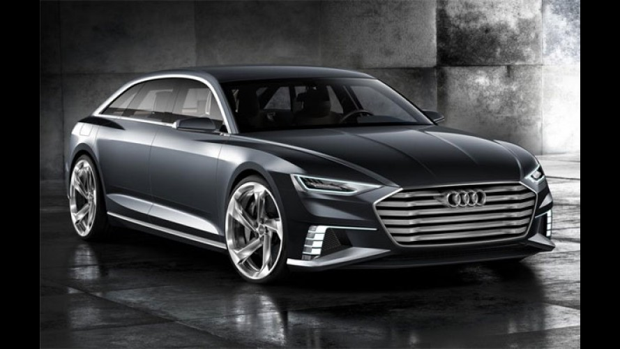 Audi Prologue Avant adianta o futuro das peruas - veja galeria